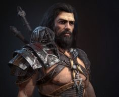 26 Best Barbarian Character images   Barbarian, Character