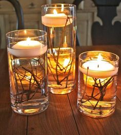 ...candles with twiggs