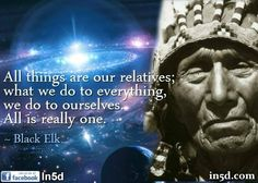Black Elk quote about oneness #hawaiiecoliving