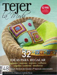 "Photo from album ""Tejer la Moda on Yandex. Simply Crochet, Love Crochet, Knit Crochet, Crochet Book Cover, Crochet Books, Crochet Stitches, Crochet Patterns, Crochet Magazine, Crochet Purses"