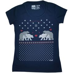 Camiseta feminina LOVE BEARS
