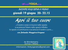 Insegnanti Yoga Ratna Italia: A MILANO CON JOLANDA MAGGIORA VERGANO