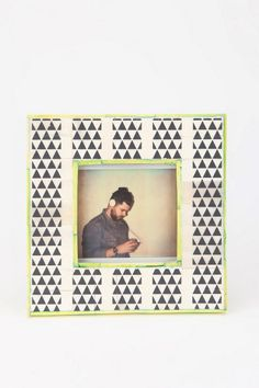 Four Corners Picture Frame  #UrbanOutfitters ... love... with it was 3x3  $19