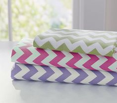 23 ideas baby girl bedding purple pottery barn kids for 2019 Chevron Curtains, Always Kiss Me Goodnight, Baby Girl Bedding, Girl Nursery, Purple Chevron, Purple Bedding, Beds For Sale, Twin Sheet Sets, Dahlias