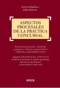 Aspectos procesales de la práctica concursal / Antonia Magdaleno, Killian Beneyto. - 2015