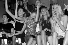 Party & Let loose | Behati and Candice seem like my kind of girls