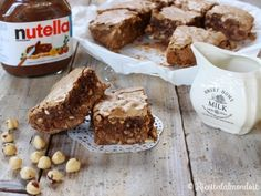 Ricetta per Brownies alla Nutella