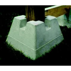Oldcastle Deck Support Block Lowe S Canada Deck