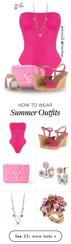 Summer Outfits : Outfit Set #138! :-) by vahrendsen1988 on Polyvore featuring Norma Kamali Bet