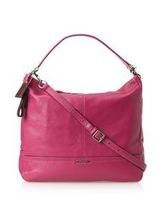 Women's Shoulder Bags - Coach Park Pebble Leather 23293 Hobo Shoulder Bag ** Click image to review more details.