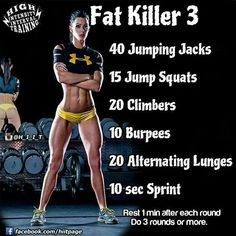 It is a typical error to go for longer sessions throughout HIIT. The entire point is to press your body to the optimum limitation throughout high strength periods. Fitness Workouts, Sport Fitness, At Home Workouts, Fitness Motivation, Crossfit Workouts At Home, Workouts Hiit, Weight Lifting Motivation, Muscle Building Workouts, Body Weight