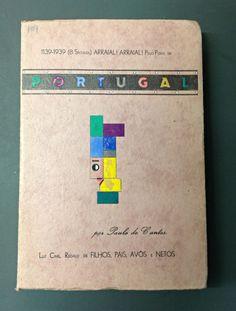 """""""Portugal: O que Todo o Portugues Deve Conhecer"""" Paulo de Cantos (1939) Livraria Povoense (Povoa do Varzim)"""