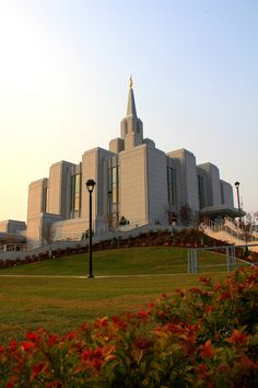 Calgary Alberta Temple of The Church of Jesus Christ of Latter-day Saints. #Mormon #MormonTemple #LDS