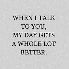 A whole lot better ❤