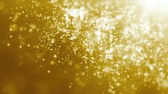 Golden particle seamless background - HD stock video clip