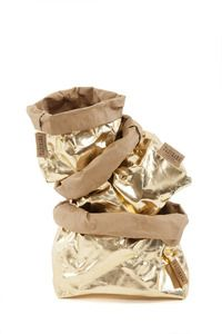 Shelley Panton's Image of Uashmama Paper Bag - Silver & Gold - Just in Time for Christmas