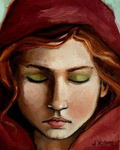 """""""Rose"""" by Jennifer Yoswa jenniferyoswa.com ."""