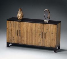 ORIENTAL RECYCLED GEMELINA ENTERTAINMENT CENTER