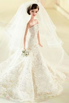 Wedding dress barbie doll | A collection of dresses for you
