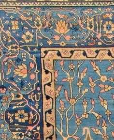 Antique Indian Rug close up ornaments. Interior decor with antique ornamental rug #rug #interior #decor
