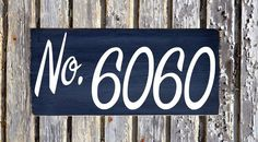House Numbers Sign Unique Modern Hipster Custom Wood Plaque Outdoor Industrial Personalized Number Signs