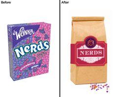 Artisanal Re-Branding Of Junk Food