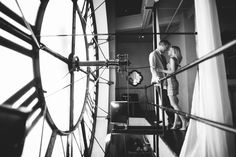 denver clock tower engagement photography | Tyler Jones Photography