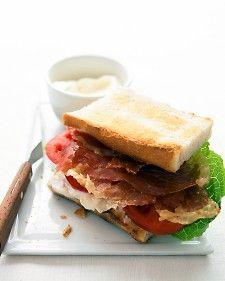 Prosciutto Lettuce & Tomato  (A twist on BLT Sandwich)