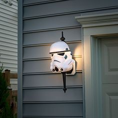 Give The Dark Side Some Light With Darth Vader and Stormtrooper Porch Lamp Covers — GeekTyrant