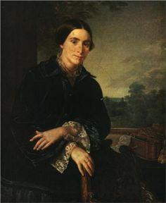 Portrait of E.A. Selivanovskaya - Vasily Tropinin