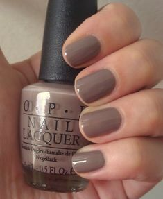 OPI Berlin There Done That. Why does it look so pretty in this picture? I've seen swatches on nail wheels in person and it looks darker and clashes with my skin tone. But this picture makes me want it. Argh.