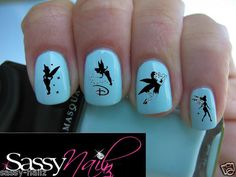 /tinkerbell-nail-art-transfer-water-wrap