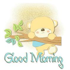 good morning coffee photo: Good Morning bearhangingonbranch-goodmorning.gif