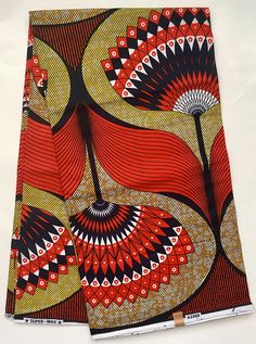 Impression : RECTO-VERSO Matière : 100 % coton Largeur : 46 Texture : Pas ciré Couleurs principales : Orange, bleu, marron, jaune Coupe du tissu : Achat de 1 + yards par client sera coupé comme 1 continu pièce de tissu jusquà une longueur maximale de 6 yard. FABRIQUANT : tous les