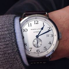 Hamilton Khaki Navy Pioneer, my favorite watch as of 2/12/15.