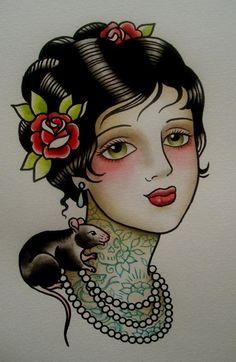 Traditional Tattoo. I