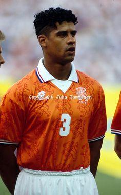 Frank Rijkaard del Milan y la Seleccion de Holanda