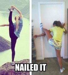 Yoga is a practice, not a perfect, so there's always something to enjoy about hilarious yoga fails. They're a great reminder to not be too serious!