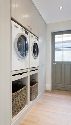 Laundry room before and after .Laundry room before and after . Laundry room before and after . Mudroom Laundry Room, Small Laundry Rooms, Laundry Room Organization, Laundry In Bathroom, Laundry Baskets, Laundry Decor, Laundry In Kitchen, Laundry Storage, Living Room Kitchen