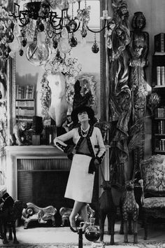 """""""Fashion changes, but style endures"""" Gabrielle """"Coco"""" Chanel, 1971"""