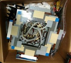 https://flic.kr/p/RysHXn   It's Alive!   The original Sarlacc pit done back in 2002 (news.lugnet.com/starwars/?n=12538, www.brickshelf.com/cgi-bin/gallery.cgi?i=191950)  and before Lego released one in a set.   Found in one of the small boxes containing the other pieces.