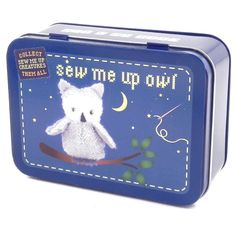 It's a gorgeous collectable crafty set that any 9 year old girl would love. The Gift In A Tin - Owl is a wonderful stocking filler or little birthday present.