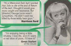 El hecho de que Gwen nunca le dio una cogida acerca de tener una rebanada de pizza de rad. | 42 Things To Love About No Doubt