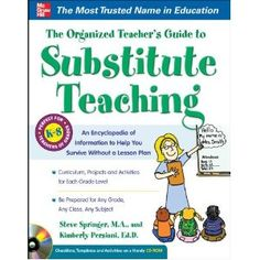 Subbing has to be one of the toughest jobs in education. We wanted to create a resource that would empower a sub to be ready for any grade level assignment. This book breaks down each grade level and outlines what they learn and gives lesson ideas. It also has tips on classroom management. Additionally, there is a CD Rom full of resources that would assist you with any subbing assignment.