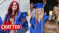 Ariel Winter & Elle Fanning Graduate High School