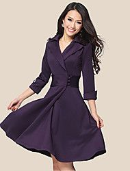 Women's Elegant Lapel Wrap Dress with Buttons. Get wonderful discounts up to 70% at Light in the box with Coupon and Promo Codes.