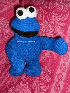 MarieCatmade: Cookie Monster