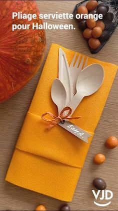 "Halloween et son pliage de serviette orange. #halloween #pliage #serviette #orange #diy #courge #31 #31octobre #vjd #napkin #fete #enfant #deco #decoration #table #bonbon #maison #home #doityourself #ambiance #noel #jourdelan #ami #invitation Pliage serviette pour Halloween. C'est assez simple pour Halloween de faire un pliage. La couleur semble presque imposée ! L'orange est incontournable. En route pour un pliage des plus simples. La pochette carrée à un pli. Suivez ""l'artiste plieur""..! Paper Napkin Folding, Guys 21st Birthday, Dining Etiquette, Wedding Shower Decorations, Diy House Projects, Decoration Table, Dessert Recipes, Desserts, Cute Crafts"