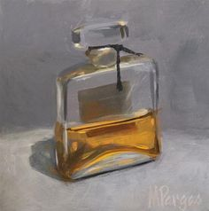 """Daily Paintworks - """"Hey Nineteen"""" - Original Fine Art for Sale - © Mary Pargas Painting Still Life, Still Life Art, Architecture Drawing Art, Daily Painters, Impressionist Art, Bottle Painting, N21, Small Paintings, Beauty Art"""