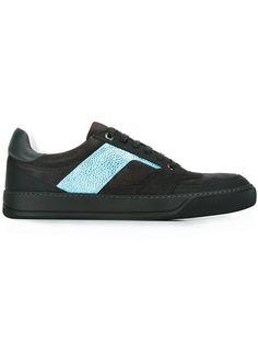 LANVIN Side Panel Sneakers. #lanvin #shoes #sneakers
